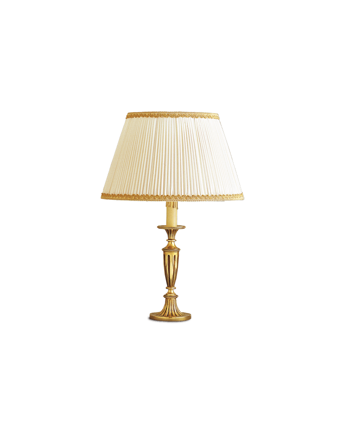 Lucien Gau Louis XVI table lamp with lampshade 16391