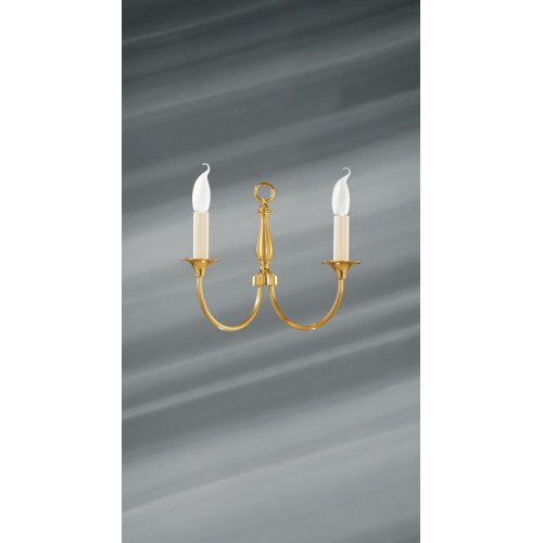 Lucien Gau Classique wall light with two lights 17802