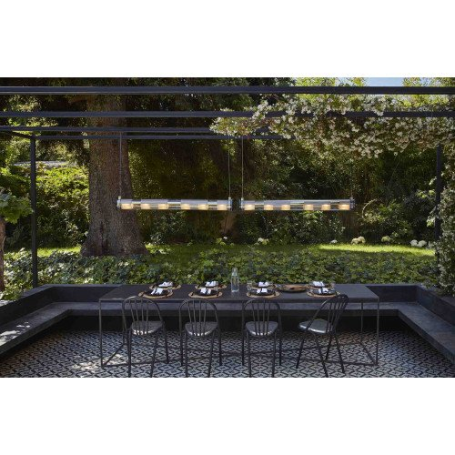 IN THE TUBE 120-1300 DCW éditions PARIS Outdoor horizontal pendant
