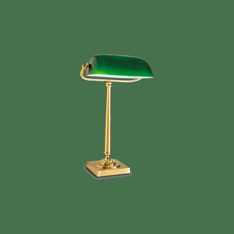 lucien gau lampe banquier style art d co lampe de table. Black Bedroom Furniture Sets. Home Design Ideas
