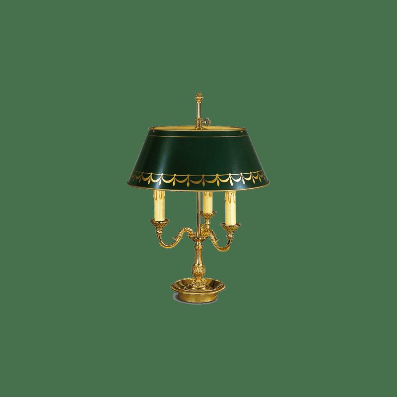 Lucien Gau Lamp Bouillotte Louis XVI 16223 3L