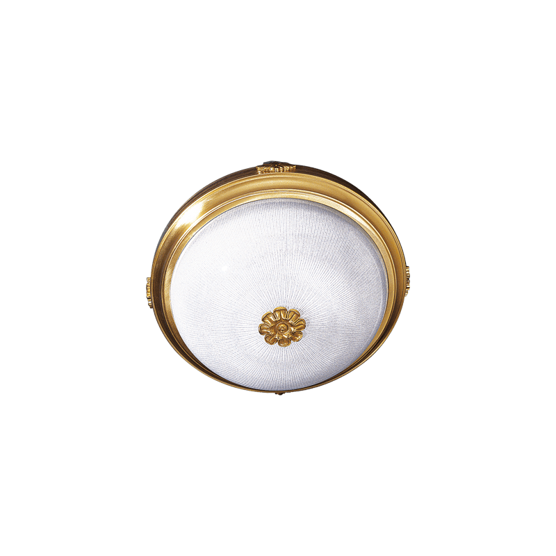 Lucien Gau Ceiling light Vieil Or Glassware 3L Patern 00563