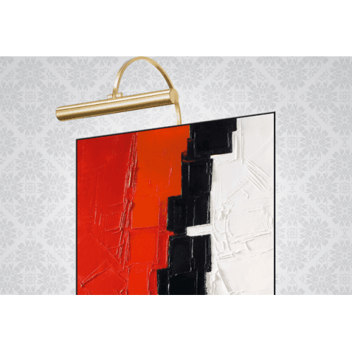 """Wall lamp Orsay """" Lighting painting"""" Lucien Gau 29122 Classique"""