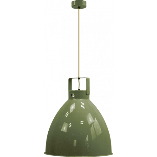 Jieldé Augustin A540 OLIVE GREEN RAL6003 SHINY / Interior : SILVER