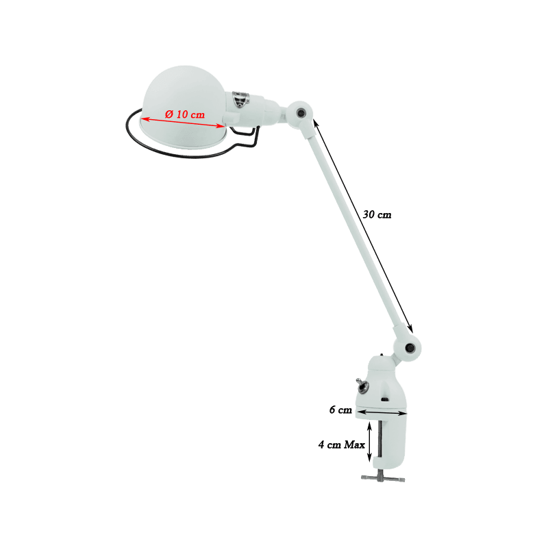 Jieldé Signal Collection SI312 Lampe à étau