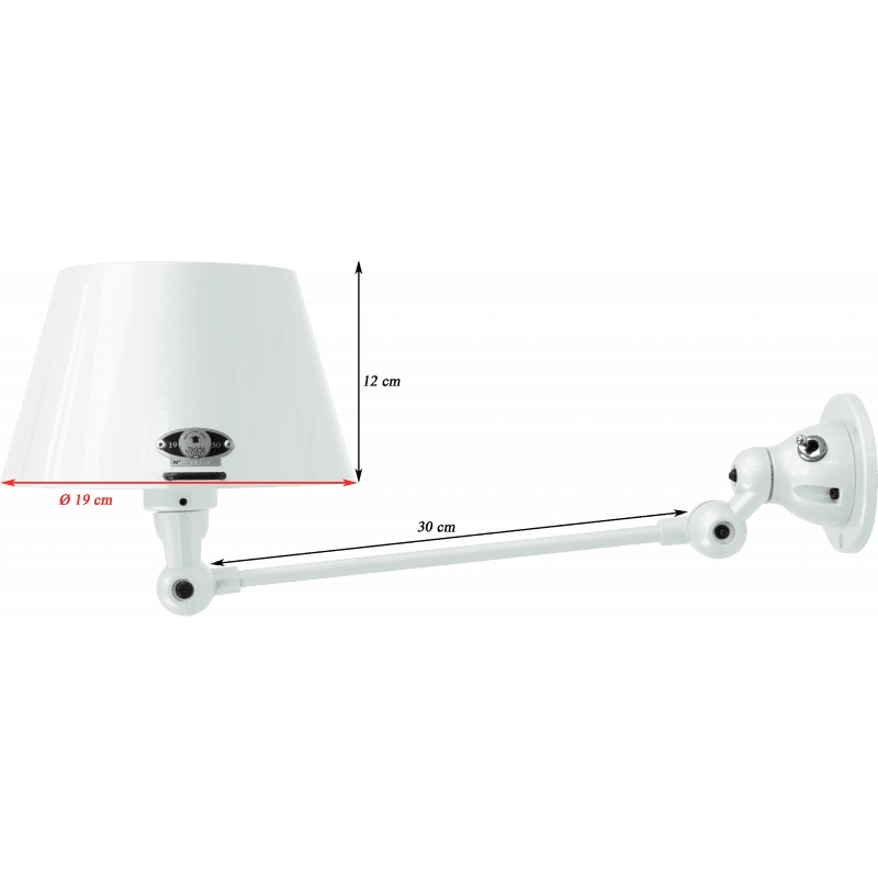 Jieldé Aicler Collection AID301 Wall lamp