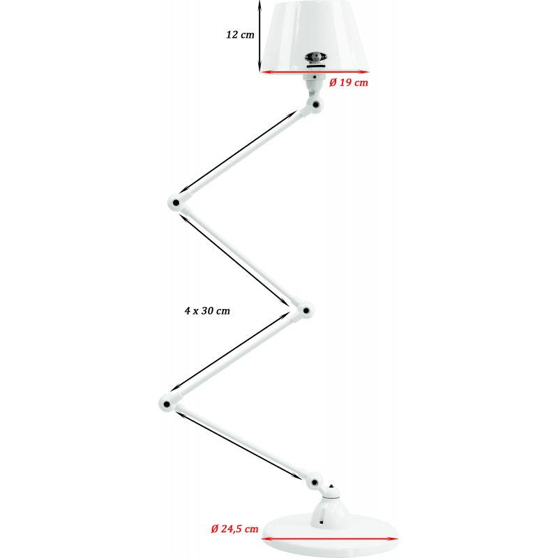 Jieldé Aicler Collection AID433 Stehlampe