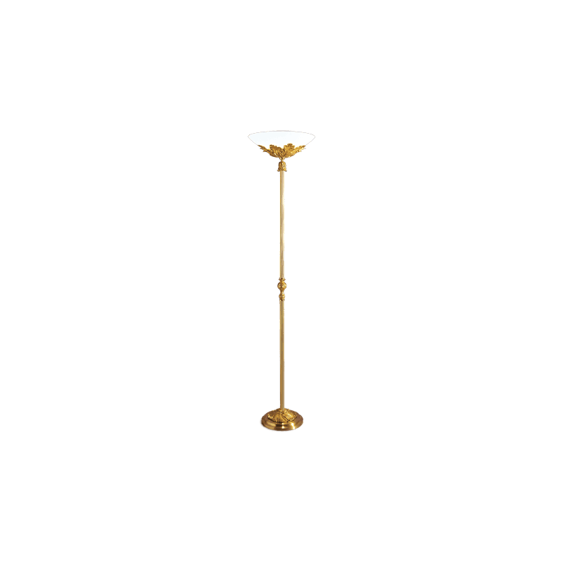 Lucien Gau Floor lamp in bronze 15481 Louis XV