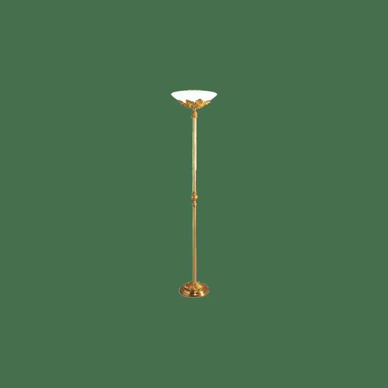 Lucien Gau Stehlampe aus Bronze 15481 Louis XV