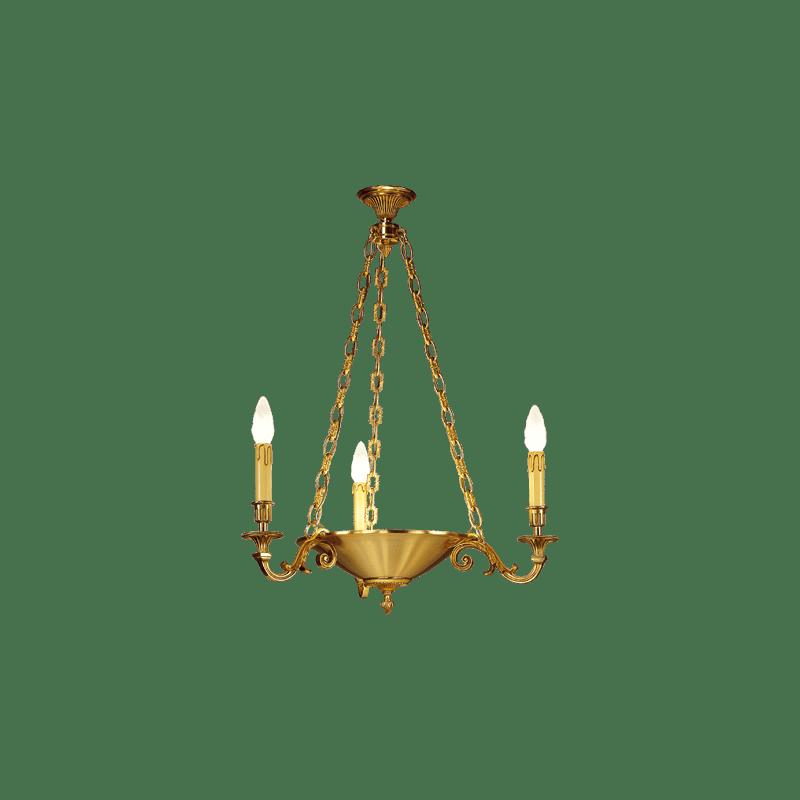 Lucien Gau Louis XVI chandelier 16414