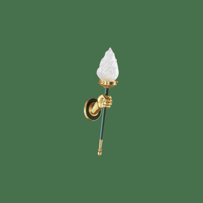 Lucien Gau Applique en bronze massif 16501 Directoire