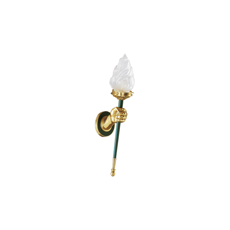 Lucien Gau Wall lamp in solid bronze 16501 Directoire