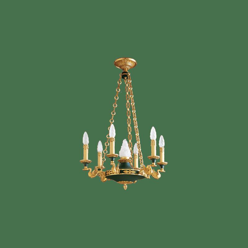 Lucien Gau Applique en bronze massif 15007 Empire