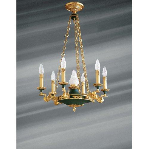 Lucien Gau Wall lamp in solid bronze 15007 Empire