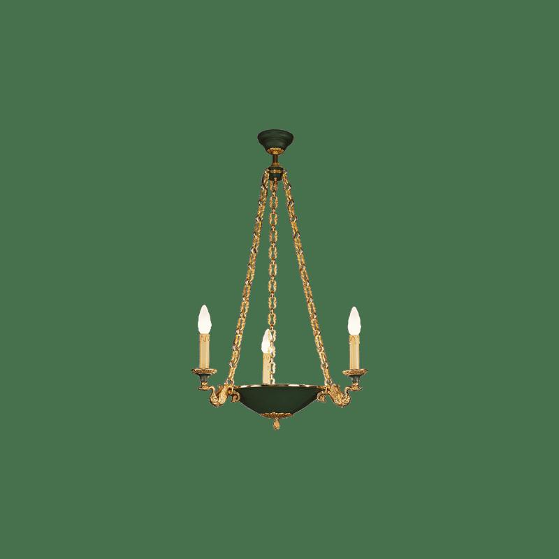 Lucien Gau Empire Style Chandelier 15074