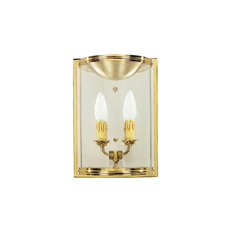 Lucien Gau Classic wall lamp in solid bronze 143
