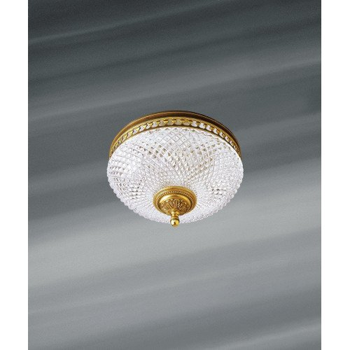Lucien Gau Ceiling lamp in solid bronze 640/25