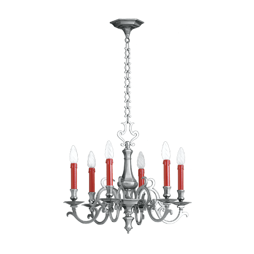 Lucien Gau Chandelier in...