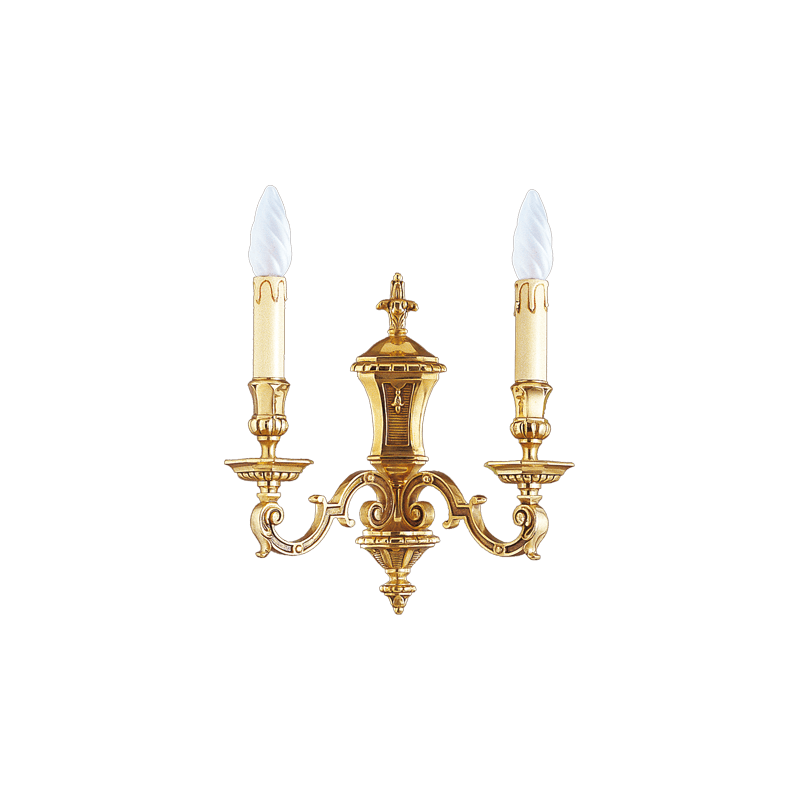 Lucien Gau Applique Louis XIV à deux lumières 14952