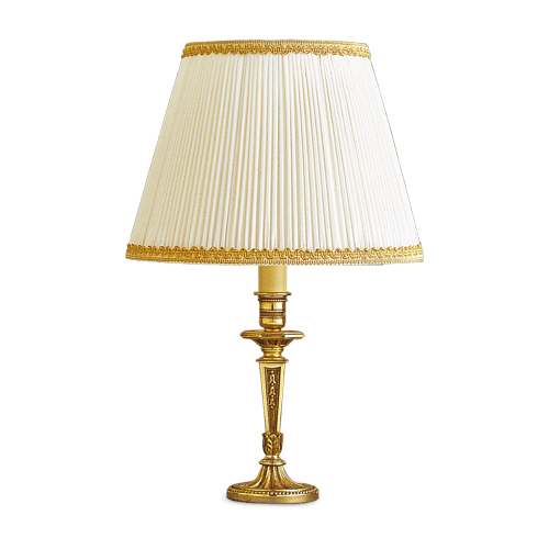 Lucien Gau Louis XVI table lamp with lampshade 16071