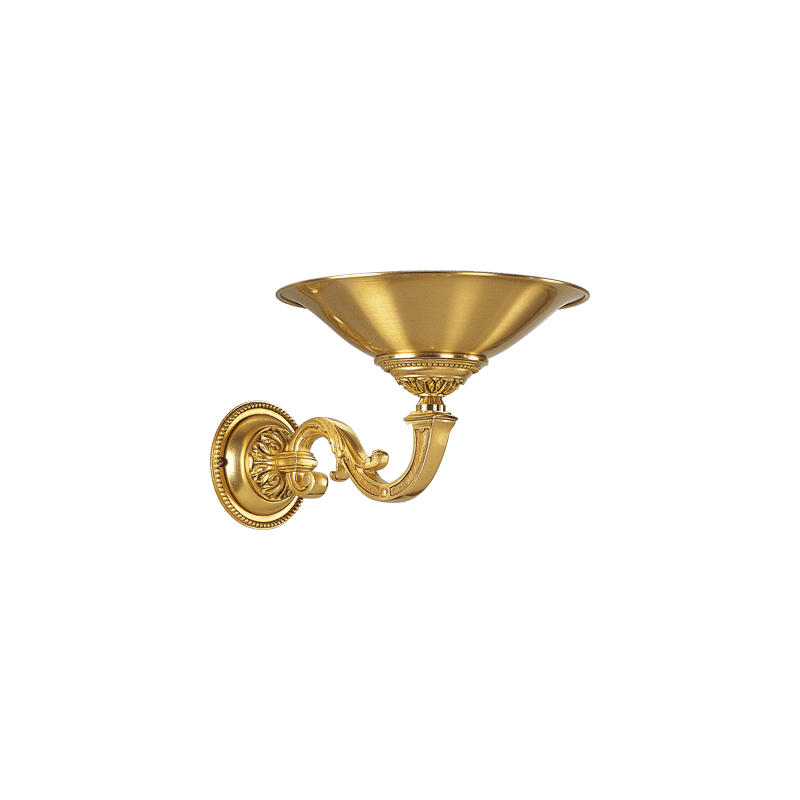 Lucien Gau Wandleuchte aus Louis XVI Bronze in Form eines Beckens 16411
