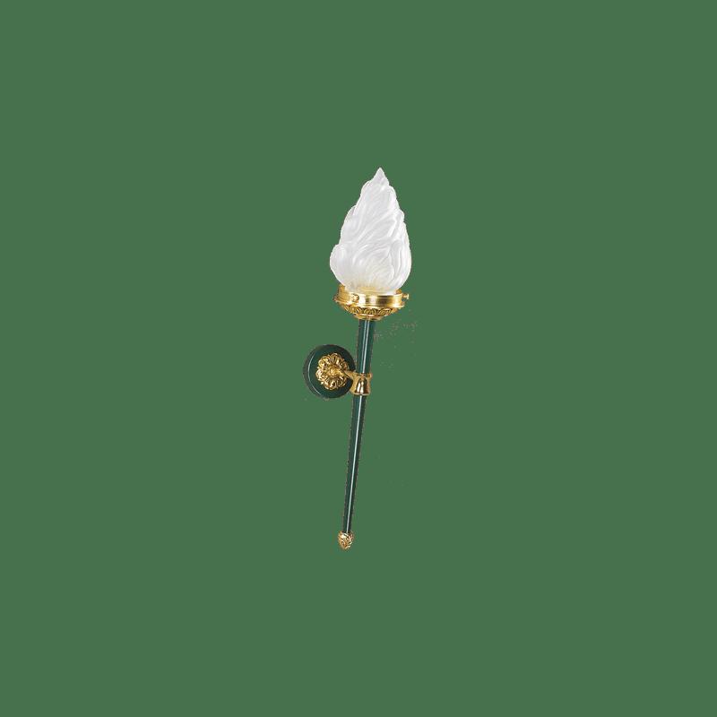 Wandleuchte im Lucien Gau Directoire-Stil mit flammenförmigem Licht 17011