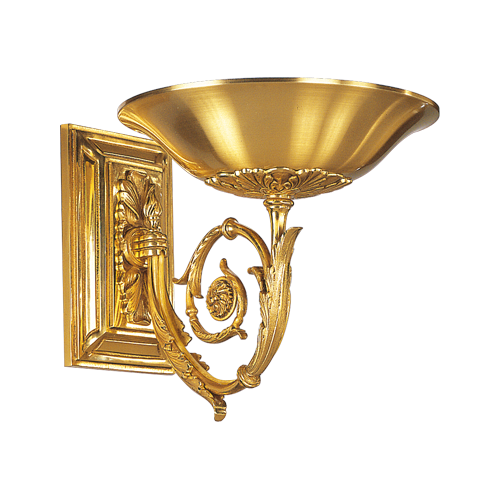 Lucien Gau Directoire Wall Lamp with light in the shape of a basin 18621