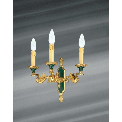 Lucien Gau Empire style sconce with three lights 15003