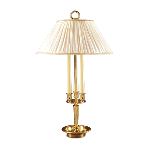 Lucien Gau Empire style table lamp with two lights 15412- Ascott