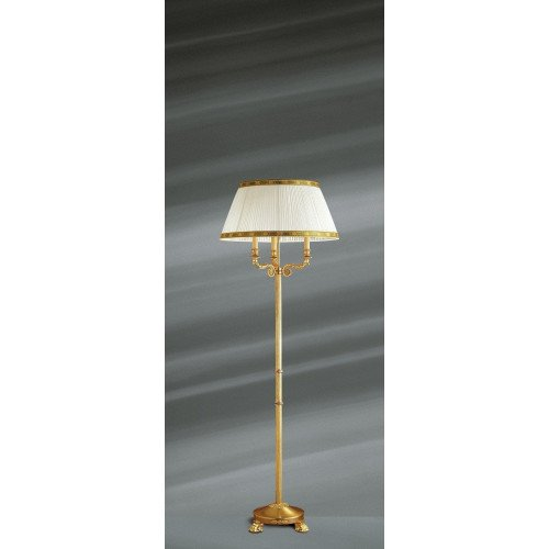 Lucien Gau Empire solid bronze floor lamp with three lights 15053 ter