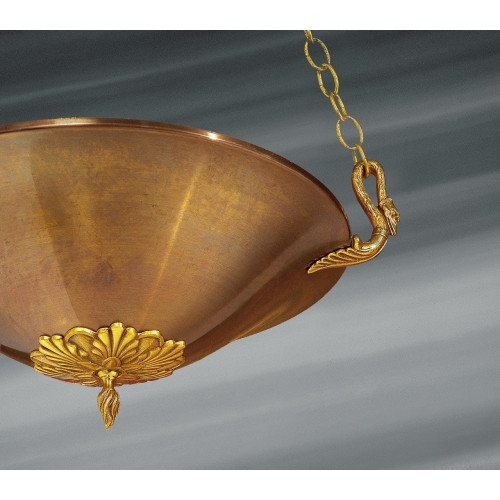 Lucien Gau Suspension en bronze de style Empire 17031 antiquaire