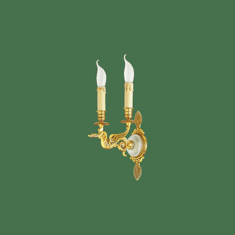 Lucien Gau Applique de style Restauration à deux lumières 18122