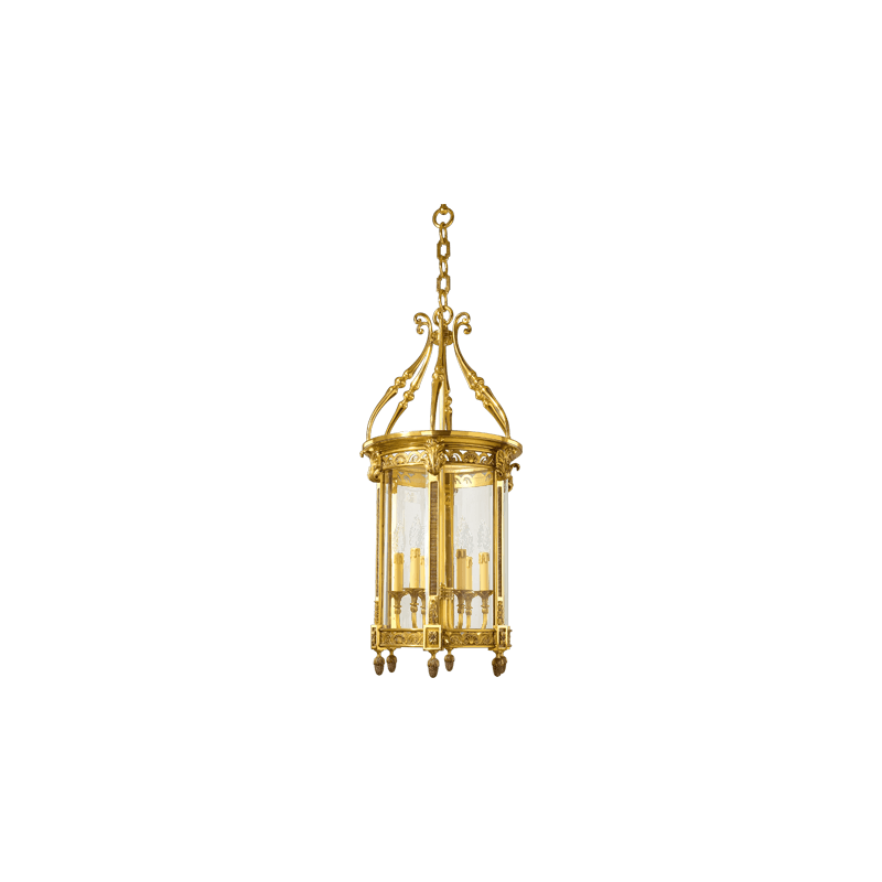 Lucien Gau Classic Louis XVI lantern with six lights 196/50
