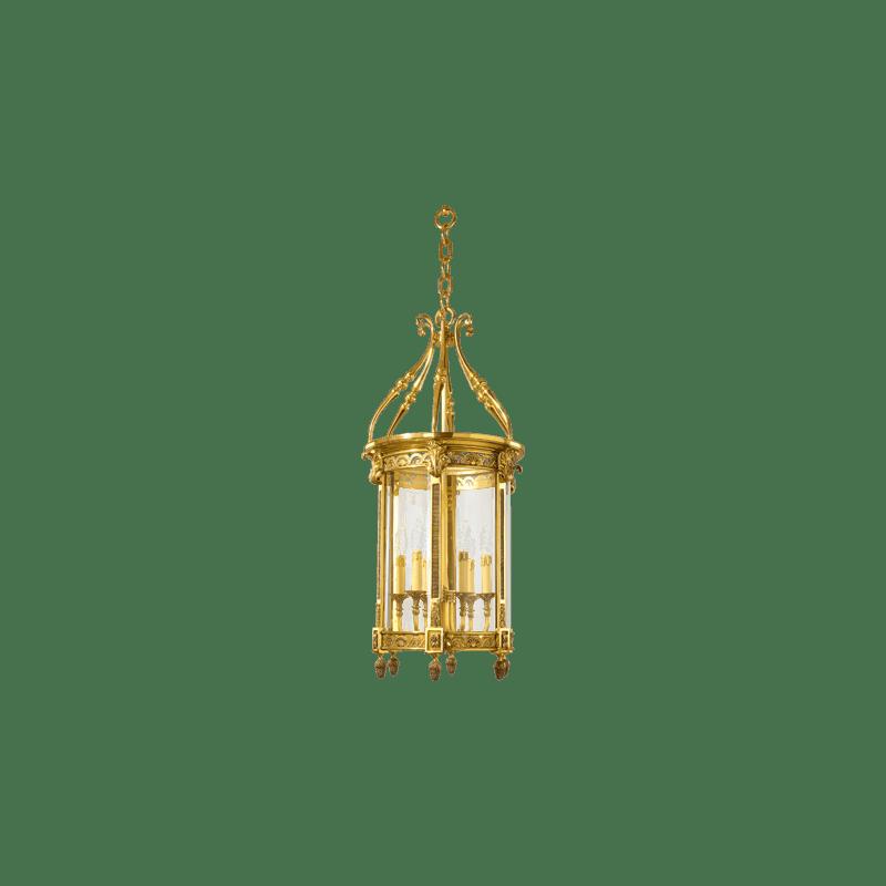Lucien Gau Classic Louis XVI Laterne mit sechs Lichtern 196/50