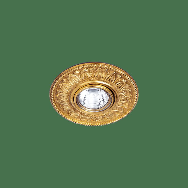 Lucien Gau Spot Antoinette aus massivem Bronze Altgold 21121