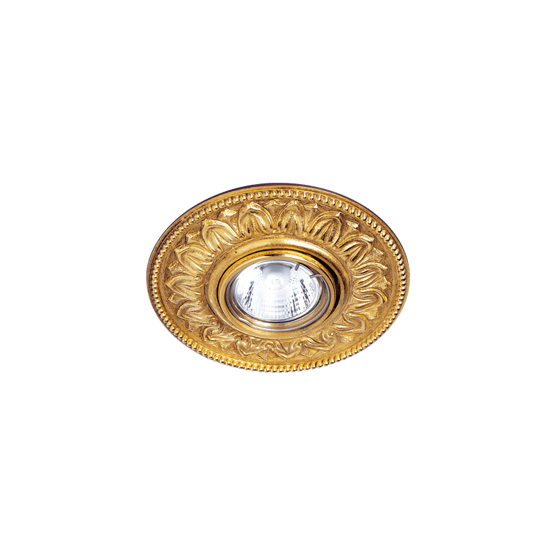 Lucien Gau Spot Antoinette in solid bronze old gold 21121