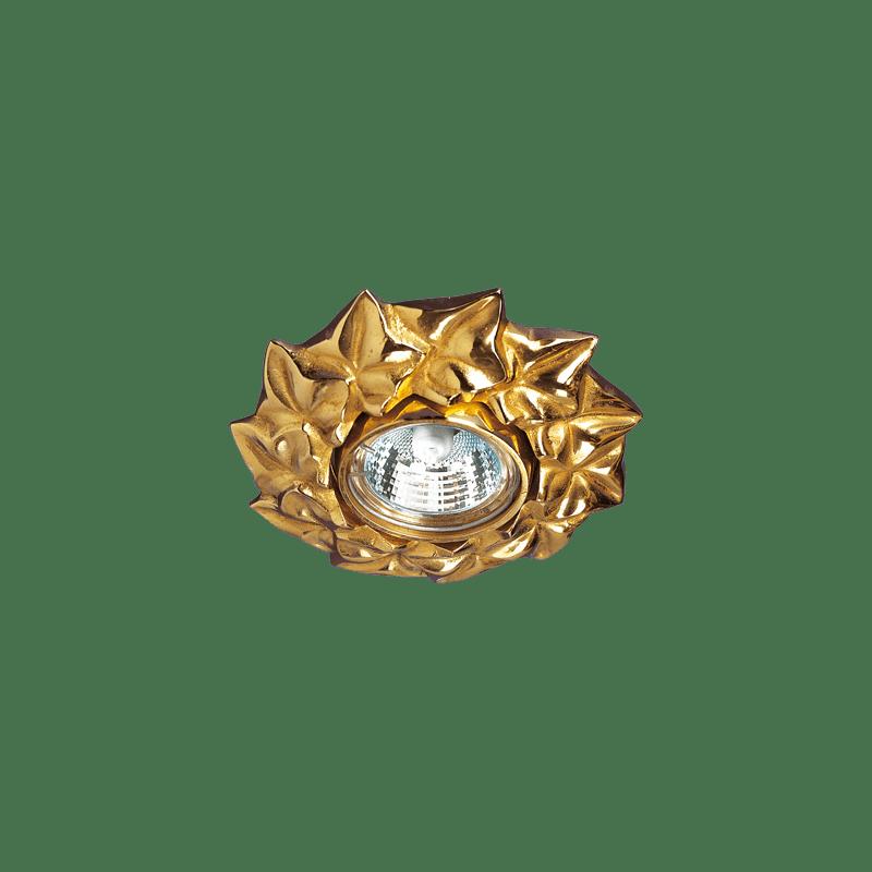 Lucien Gau ADAM Spot aus massivem Bronze Altgold 33411