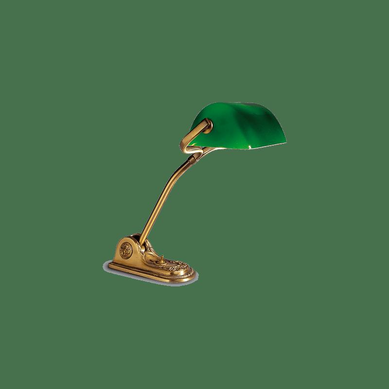 Lucien Gau Art-nouveau romantique lamp and adjustable lampshade 19731