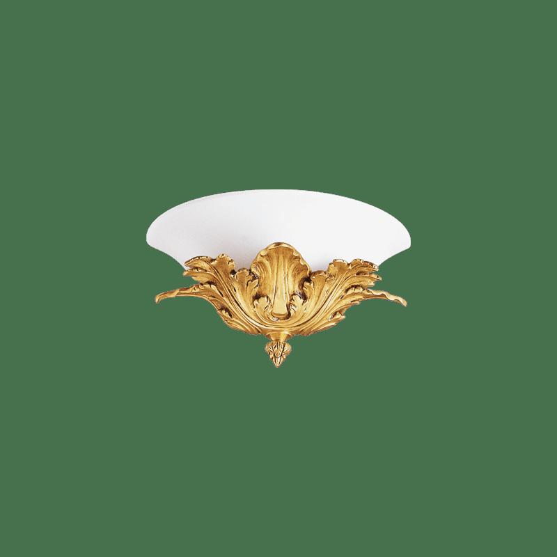 Lucien Gau Wall lamp in Art-nouveau Romantique single light 19601