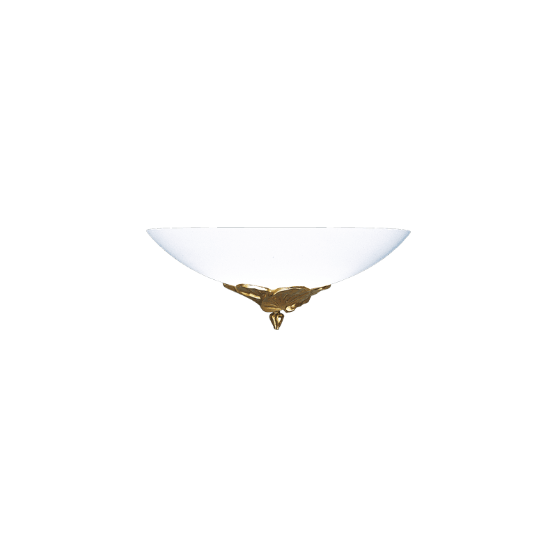 Lucien Gau Applique vieil or avec verrerie 30321 Nymphéa Classique