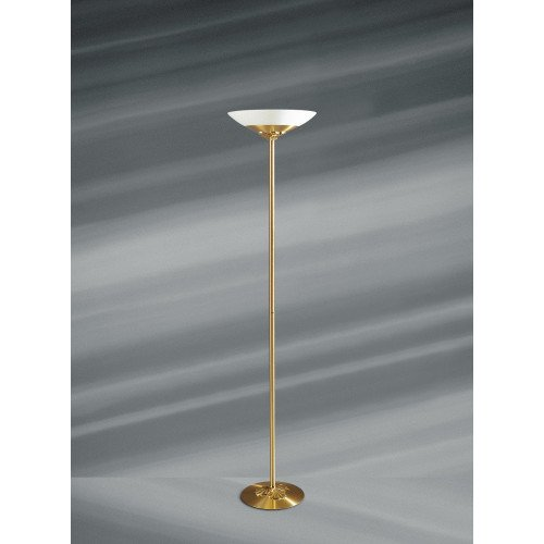 Lucien Gau Traditional single light and glass chandelier 30371 Nymphea Classique
