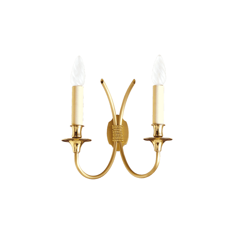 Lucien Gau Classique wall light with two lights 4132 links