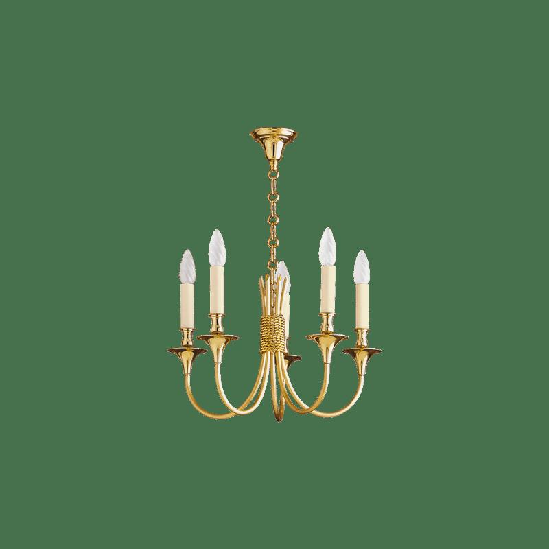 Lucien Gau Classique five-light chandelier 4135 liens