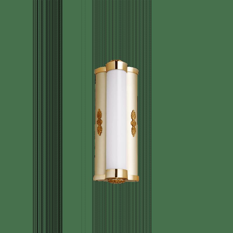 Lucien Gau Classique wall light old gold single light 90311 calypso