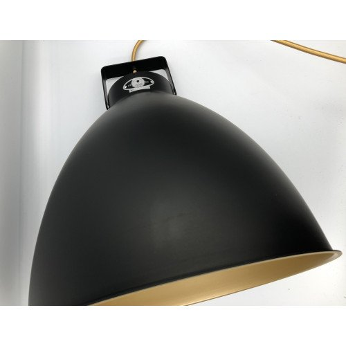 Jieldé Augustin A360 BLACK RAL9011 MAT / Interior : GOLD / IN STOCK!