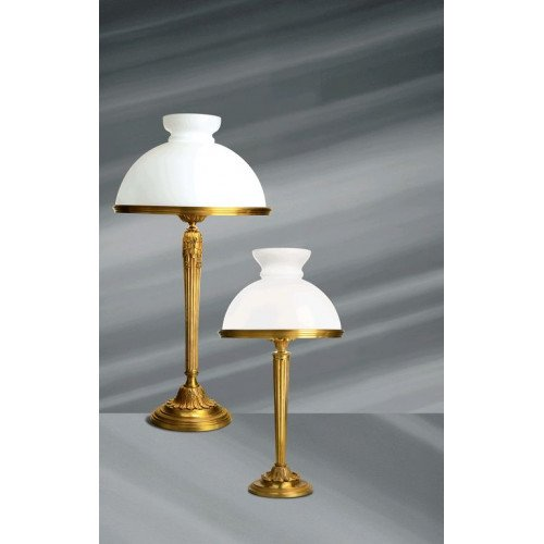 Lucien Gau Louis XVI table lamp with lampshade 16595
