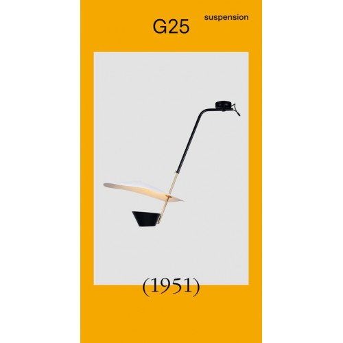 Sammode G25 (1951) pendant lamp Pierre Guariche