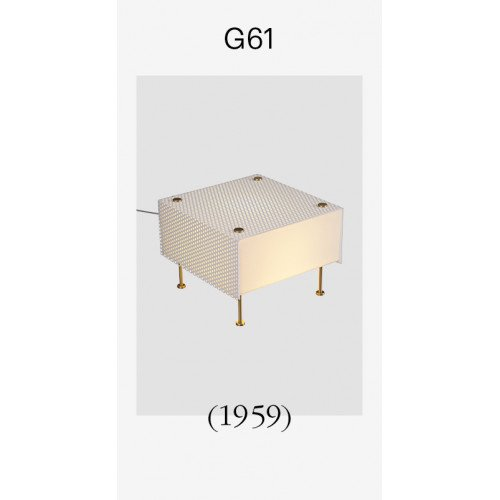 Sammode G61 (1959) Lampe de table Pierre Guariche