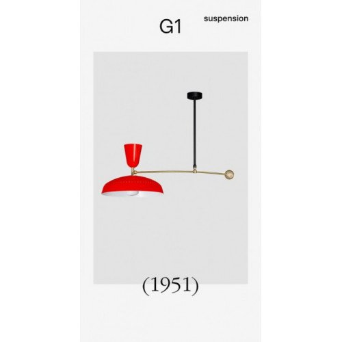 Sammode G1 (1951) Pendant lamp Pierre Guariche