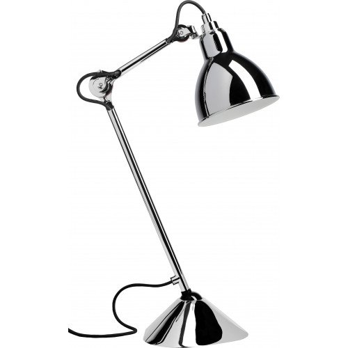 Lampe Gras n°205 black frame Table lamp DCW éditions PARIS